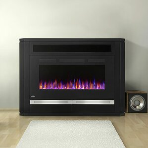 Alanis Surround Mantel Electric Fireplace by Napoleon