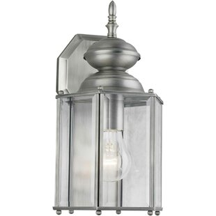 Check Prices Sardinia 1-Light Outdoor Wall Lantern By Alcott Hill