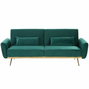 Purcell 3 Seater Clic Clac Sofa Bed By Canora Grey