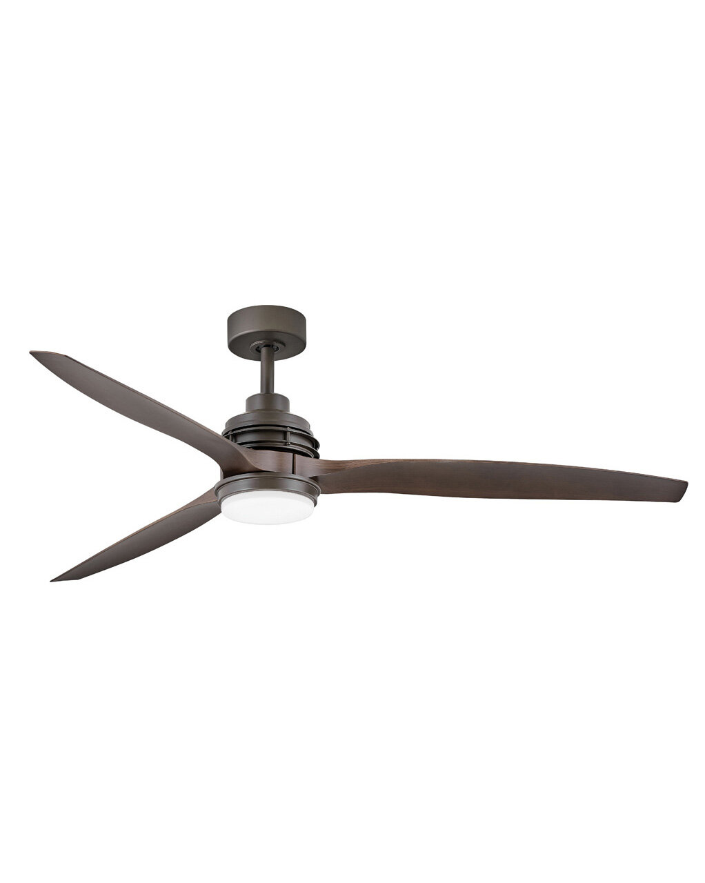 Latitude Run 60 Alantis 3 Blade Outdoor Led Propeller Ceiling Fan With Wall Control And Light Kit Included Wayfair