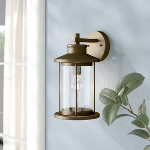 Affordable Price Pershore 1-Light Outdoor Wall Lantern By Alcott Hill