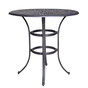 Thurston Aluminum Bar Table by Fleur De Lis Living New Design
