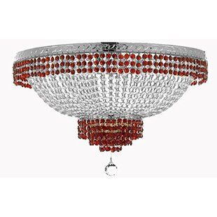 Rosdorf Park Frey 14-Light Flush Mount