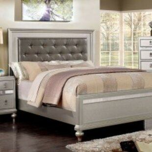 Bard Contemporary Upholstered Platform Bed