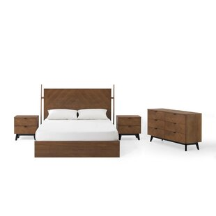 Antonelli Queen Platform 4 Piece Bedroom Set