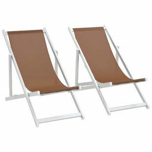 Norita Reclining Beach Chair (Set Of 2) By Sol 72 Outdoor