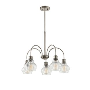 Breakwater Bay Dahms 5-Light Shaded Chandelier