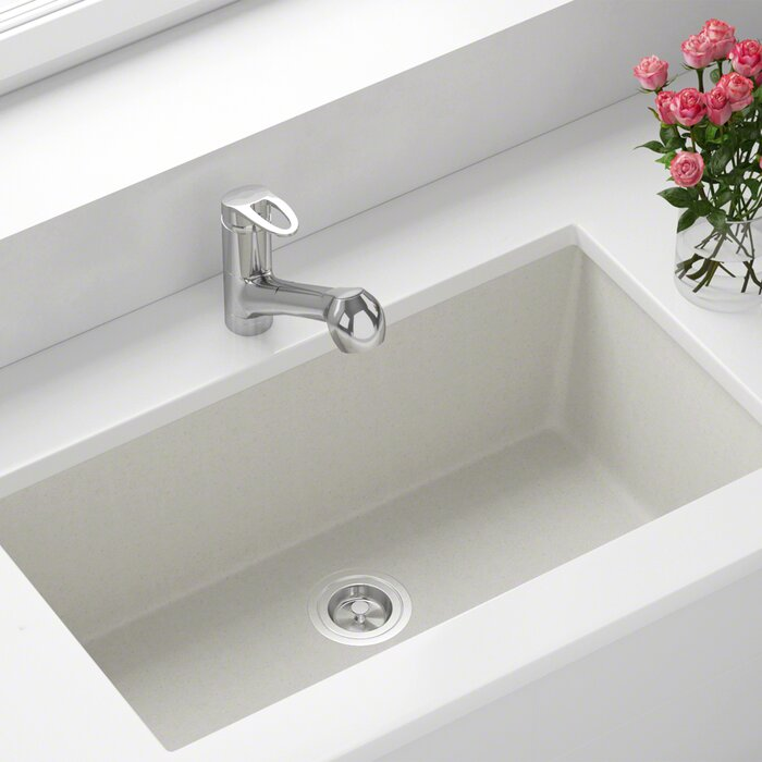 Granite Composite 33 L X 18 W Undermount Kitchen Sink