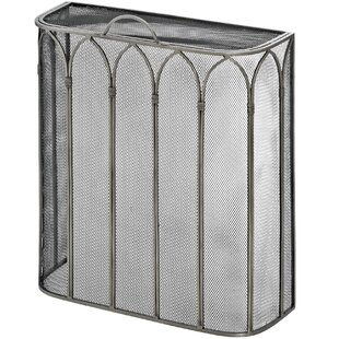 Gothic Steel Fireplace Screen By Symple Stuff