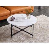 Pauletta Cross Legs Coffee Table by Mercer41