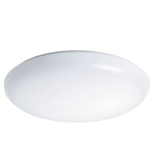 Henshaw 1-Light Flush Mount by Symple Stuff