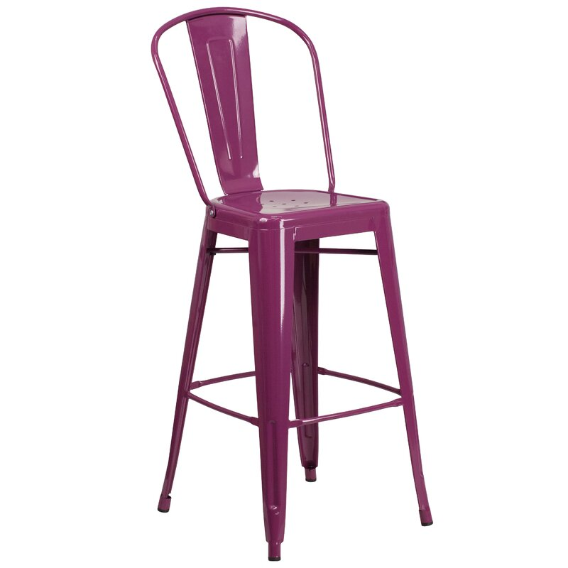 bar chairs with backs. Cercis 30\ Bar Chairs With Backs S