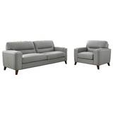 Lovelady 2 Piece Leather Living Room Set by Ivy Bronx