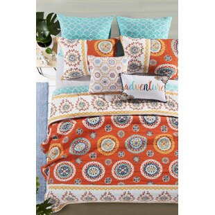 Silver Hills Reversible Quilt Set by Bungalow Rose No Copoun