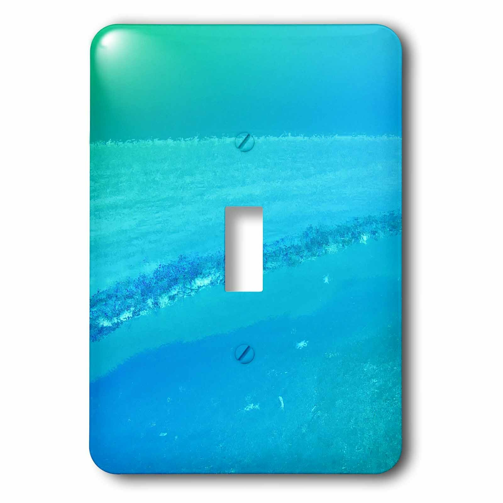 3drose Ocean And Sky 1 Gang Toggle Light Switch Wall Plate Wayfair