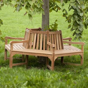 Lavaca Teak Tree Seat By Brambly Cottage