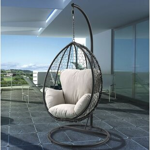 Bulah Patio Swing Chair with Stand by Bungalow Rose
