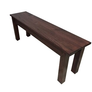 Loon Peak Negron Wood Bench