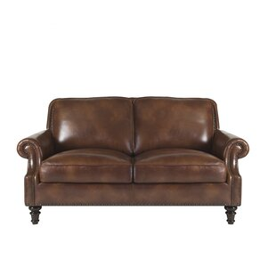 Canora Grey Franciscan Leather Loveseat