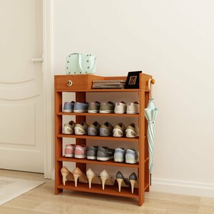Comparison 12 Pair Shoe Rack By Rebrilliant