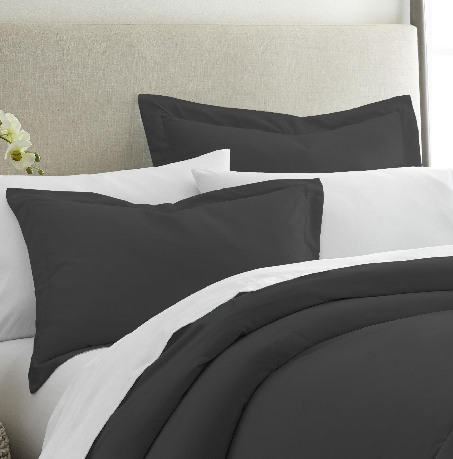 Black Pillow Shams Euro Shams Free Shipping Over 35 Wayfair