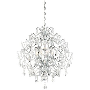 Isabella's Crown 8-Light Crystal Pendant
