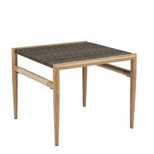 Mistana Natale Resin Wicker Side Table