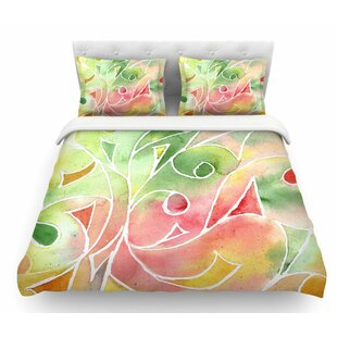 Gift Wrap by Rosie Brown Pastel Featherweight Duvet Cover