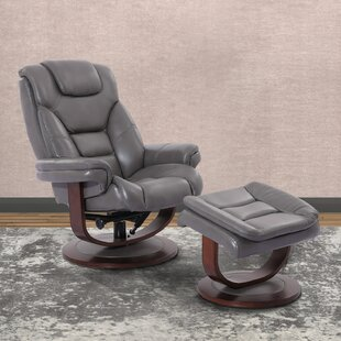 Comparison Bloomfield Manual Swivel Recliner with Ottoman by Brayden Studio Reviews (2019) & Buyer's Guide