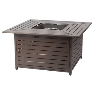 Fire Sense Danang Aluminum Propane Fire Pit Table
