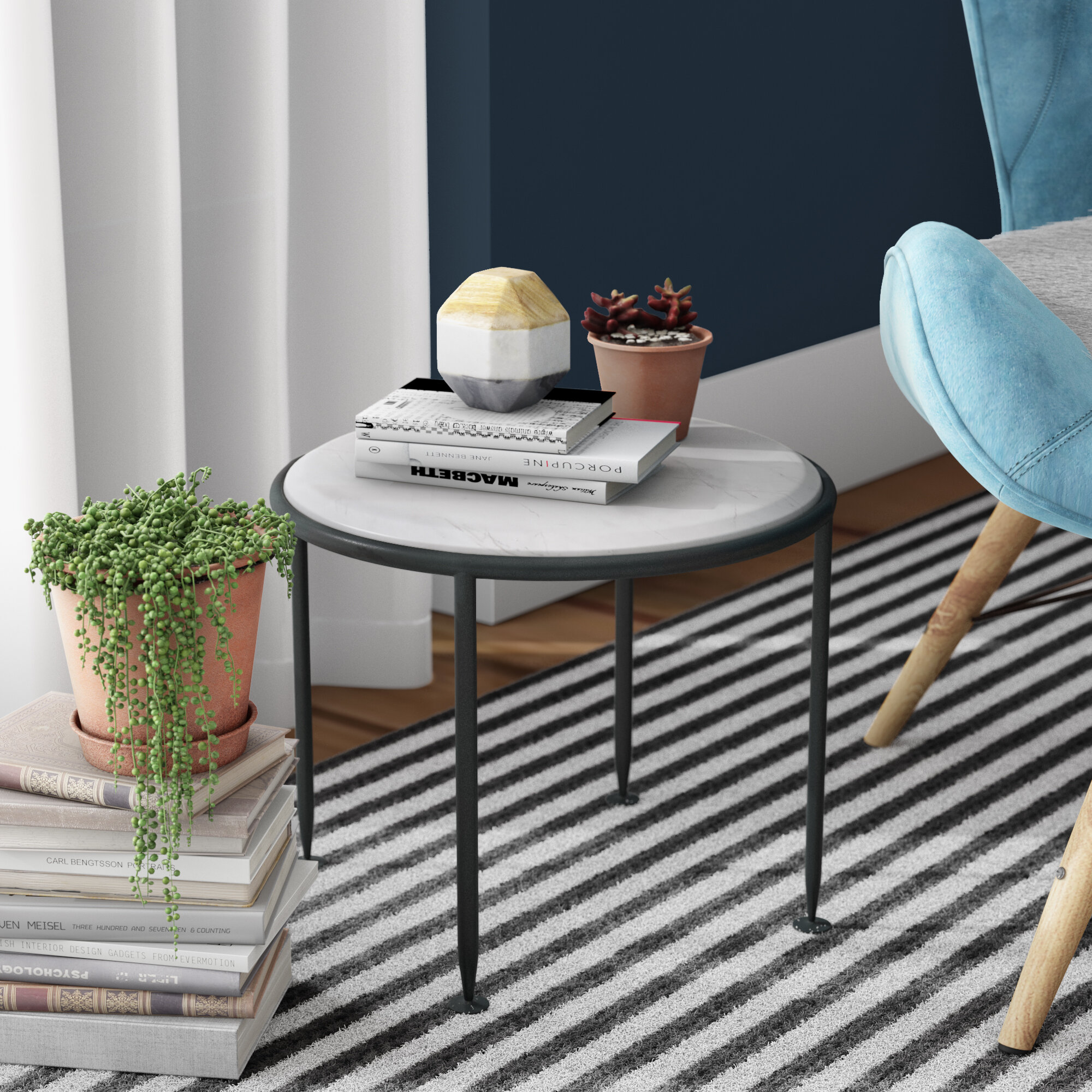 Wade Logan Kappa End Table Wayfair