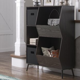 Isoline Storage Standard Bookcase by Union Rustic