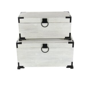 Cybulski 2 Piece Wood Trunk