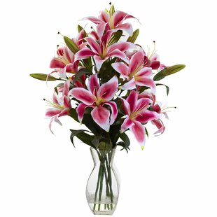 Rubrum Lily Floral Arrangement