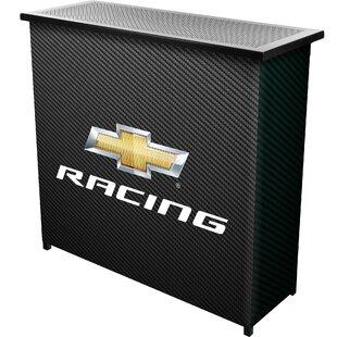 Chevy Racing Portable Home Bar By Trademark Global