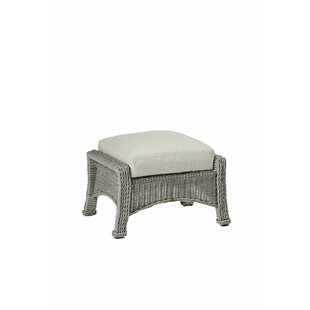 Regent Outdoor Ottoman with Cushion by Summer Classics