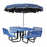Modena Extendable Metal Camping Table