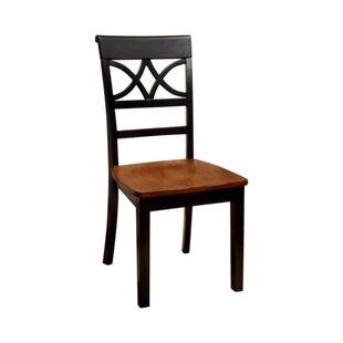 Red Barrel Studio Oisin Solid Wood Side Chair (Set of 2)