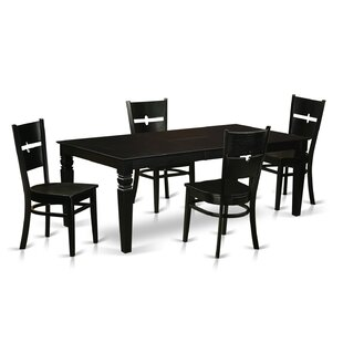 Cowen 5 Piece Dining Set Latitude Run