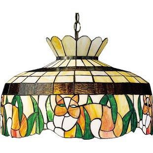 Tiffany 1-Light Pool Table Lights Pendant By Meyda Tiffany
