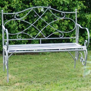 Tennyson Steel Bench By Lily Manor