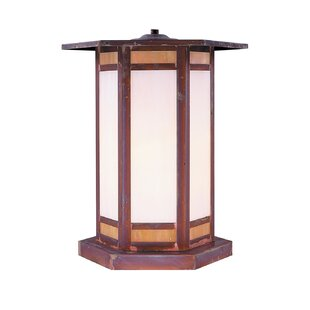Arroyo Craftsman Etoile Outdoor 1-Light Pier Mount Light