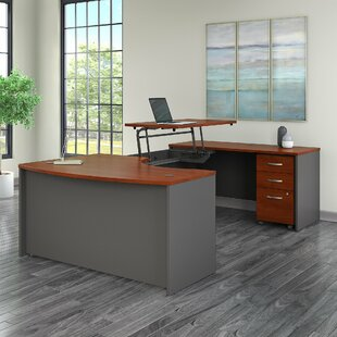 Series C Sit to Stand Height Adjustable U-Shape Executive Desk