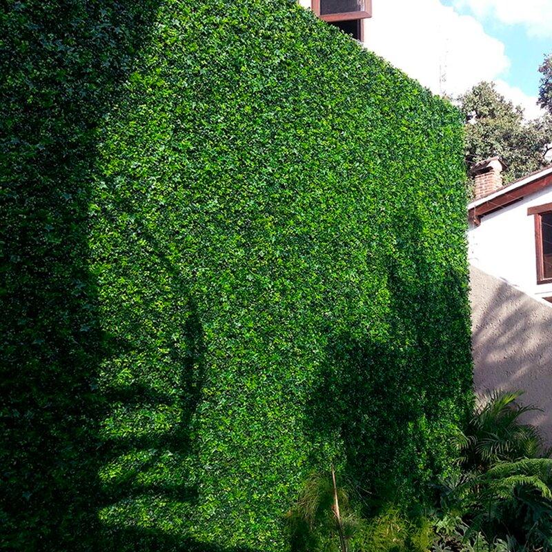Greensmart Dekor 1 5 Ft H X 1 5 Ft W Artificial Moss Fence Panel