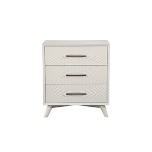 Budget Engler Wood 3 Drawer Chest by George Oliver