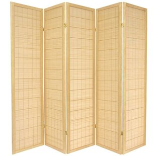 World Menagerie Aria Shoji 5 Panel Room Divider