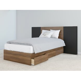 Porrima Storage Platform Bed