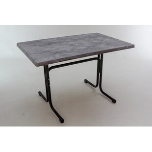 Deeds Folding Steel Dining Table By Sol 72 Outdoor