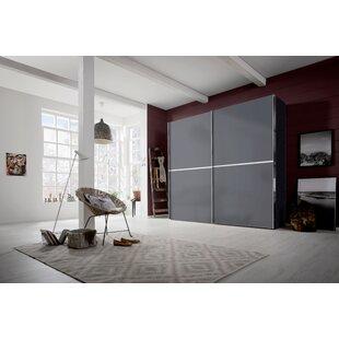 Scrivener 2 Door Sliding Wardrobe By Ebern Designs
