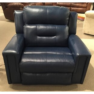 Excel Leather Power Wall Hugger Recliner